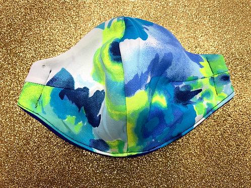 Aqua Neon Mask