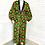 Thumbnail: Unisex Orange/Green Regal Robe
