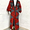 Thumbnail: Unisex Red and Black Regal Robe