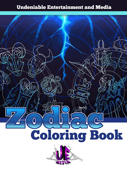 Zodiac Coloring Book