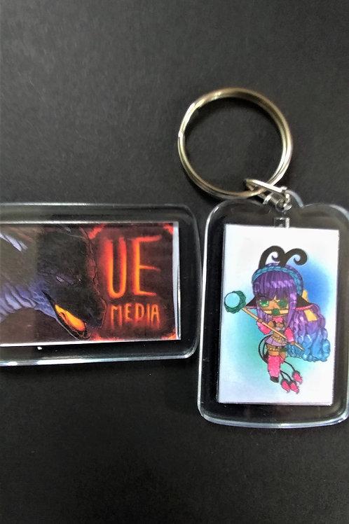 Lumera Queen Keychain