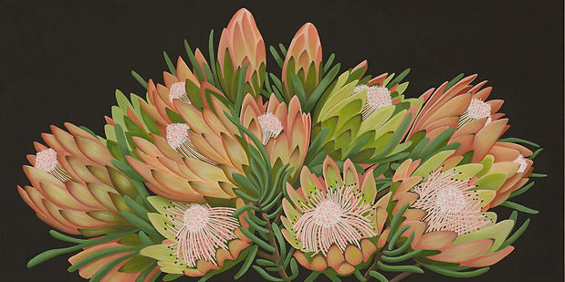 Protea Patch by Nicolle Aston