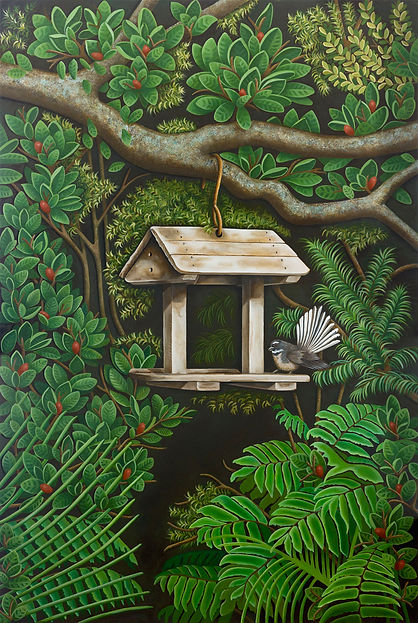Fantails Rest by Nicolle Aston