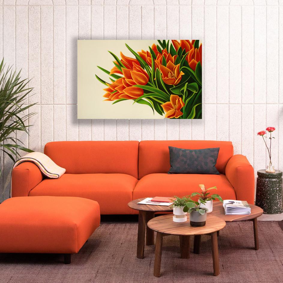 'Orange Tulips'