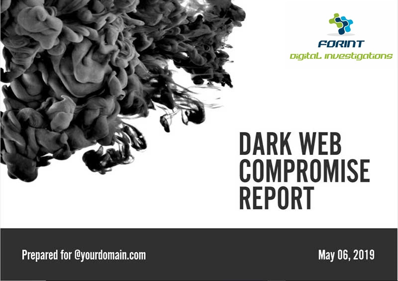 Dark Web Compromise Report