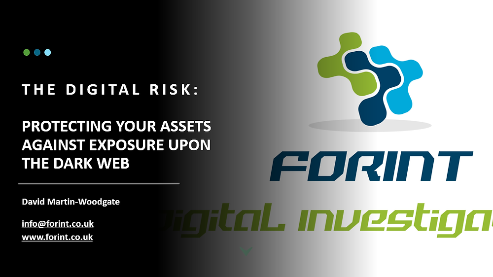 Learn how to protect your assets from exposure upon Dark Web forums. Call us for more information on how to implement and maintain your awareness.