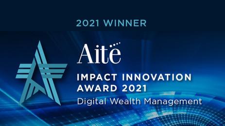 Formuesforvaltning mottar internasjonal pris for digital innovasjon