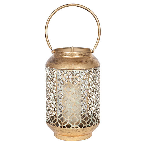 Small Antique Gold Lantern