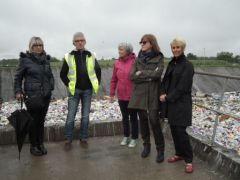 Explications de l'enfouissement des déchets non recyclés sur le site d'enfouissement