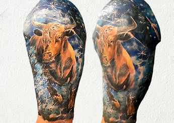 zodiac taurus tattoo london