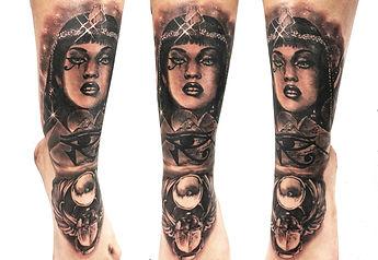 cleopatra tattoo leg.jpg