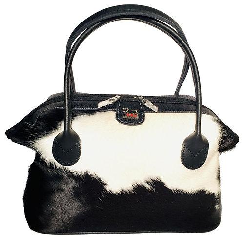 Pocket Bag  Kuhfell /Leder mit Appenzeller Kuh-Ornament