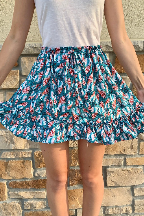 Double Layered Dainty Skirt