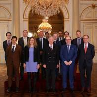 Bezoek aan Koning Filip na winst Deloitte Fast 50 in 2018