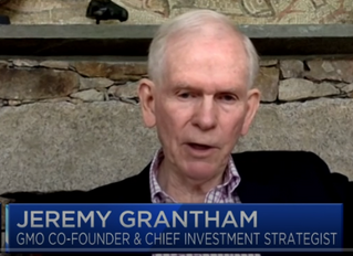 """""""This is 4th (speculative) bubble of my (50-year) career"""" - Grantham"""