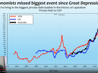 We are in biggest private debt bubble in history