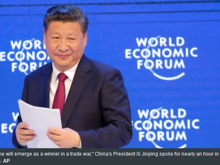 China's President Xi asserts global leadership in Davos meeting of the elites