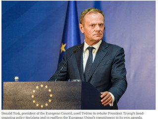 Donald Tusk (European Council) - With friends like USA, who needs enemies