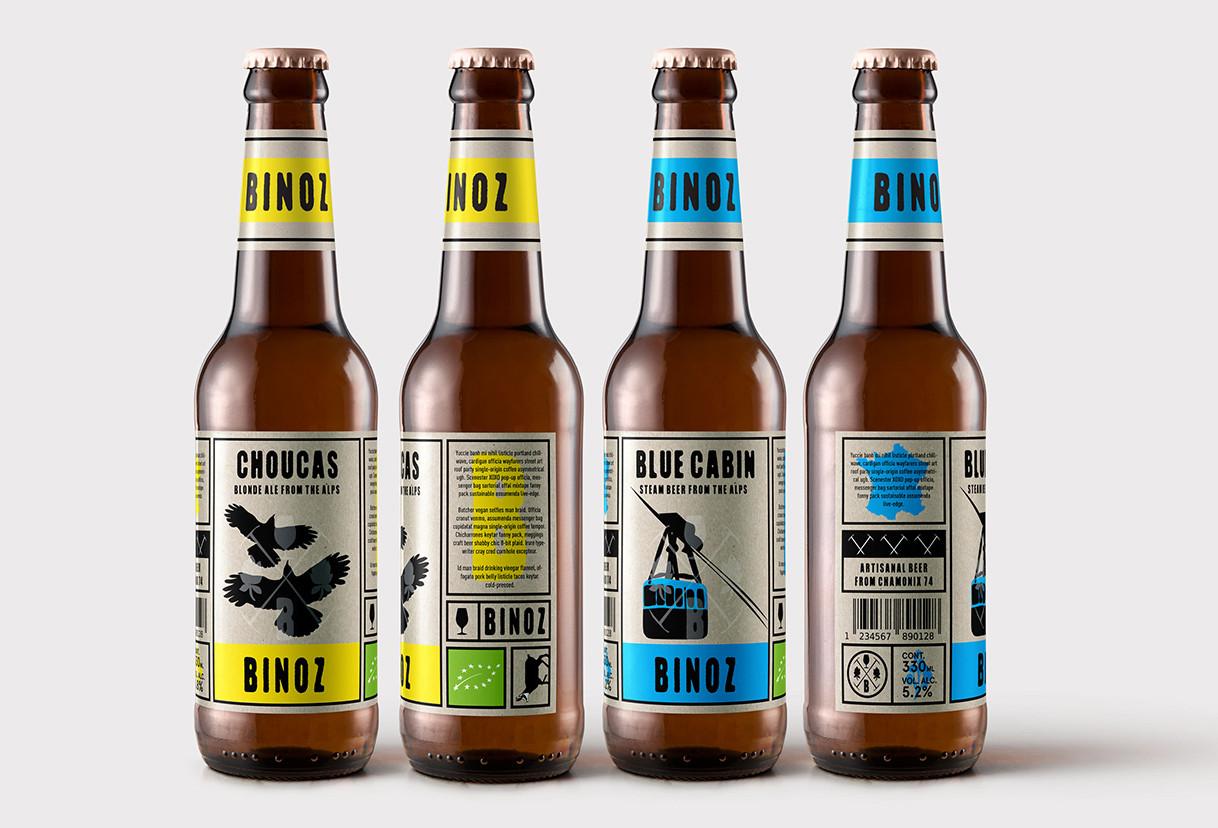 Graphic Beer Design