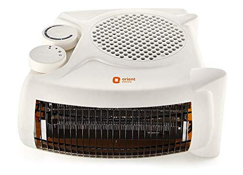 2000 Watts Fan Room Heater with Adjustable Thermostat (White)