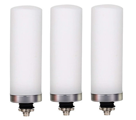 Stainless Steel Water Filter Catridge Regular Ceramic Candle 3Pcs