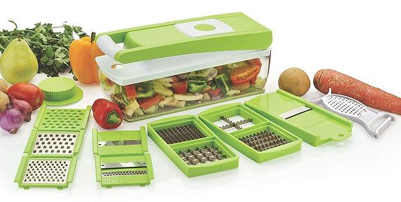 Multipurpose Vegetable and Fruit Chopper Cutter Grater Slicer(Multi Colours)