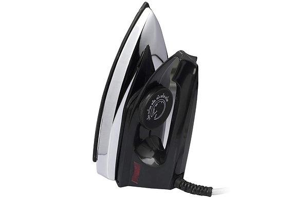 Black Iron 750 Watts Black Non Stick Coated Dry Iron Box