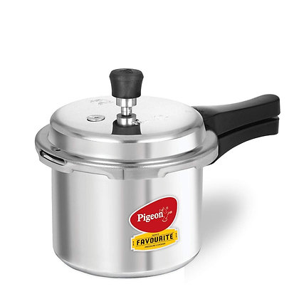 Pigeon By Stovekraft Favourite Induction Base Aluminium Pressure Cooker 3 Ltr