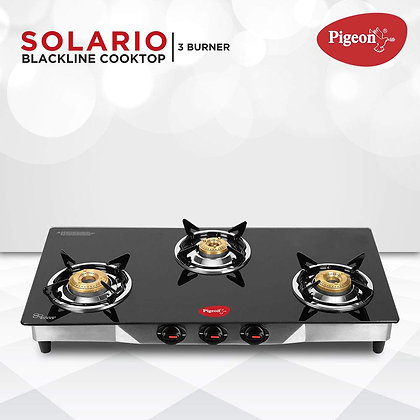Pigeon by Stovekraft Solario 3B glass cooktop