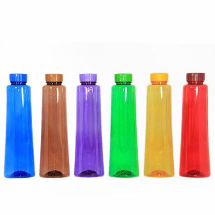 LivPet Water Bottle, 1000 ml 6pcs, for School and Office Model: Latika