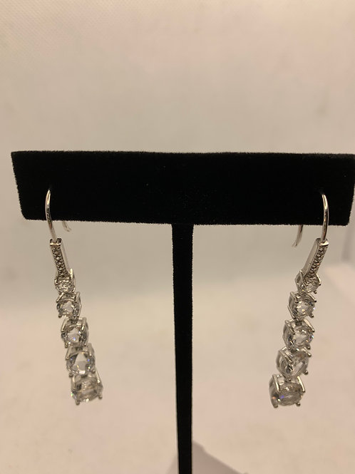 Sterling silver CZ 5 stones