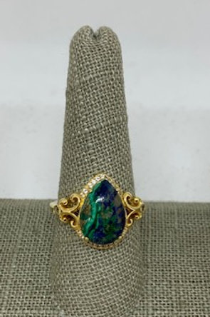 Blue/Green Stone Ring