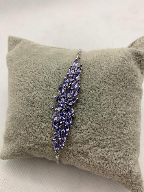 Iolite Sterling Silver Bracelet