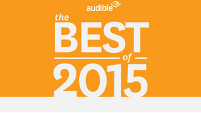 3 Nods for Audible Best Of 2015