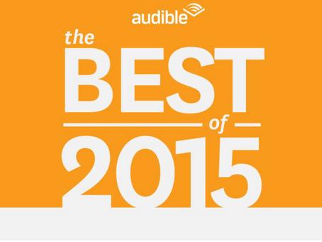 3 Nods for Audible Best Of 2015