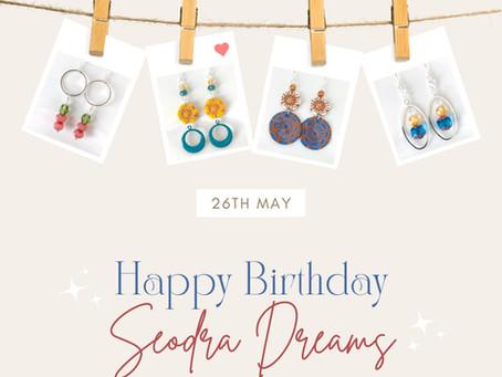 Seodra Dreams is 2! 🎉