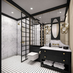 Lenox Hotel Med Bath View