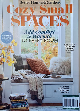 Cozy Small Spaces 2020