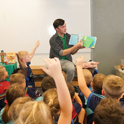 Keegan Peace, The Polka Dot Prince, Author, St Augustine's College