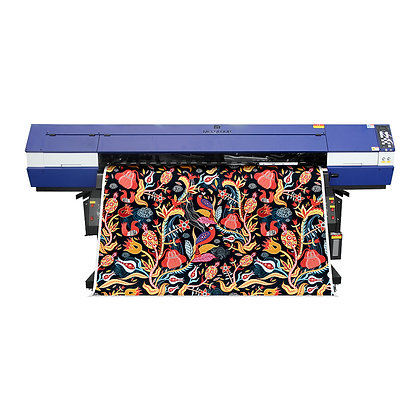 ME-1803THT 1.8m large-scale sublimation printer with three Epson heads