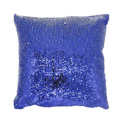 Sublimation Sequin Magic Pillow Case-blue