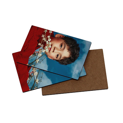 3mm thickness 100x145mm  Sublimation Blanks MDF Board