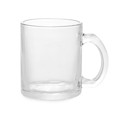 11oz Transparent Beer Mug for sublimation