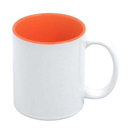 11oz Colorful interior Ceramic Mug for sublimation