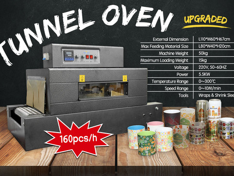 How to adjust the rotate speed of Mecolour Tunnel Oven ?