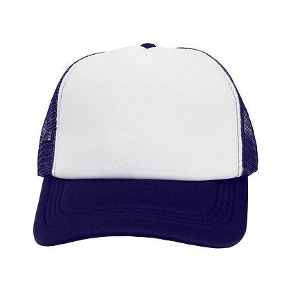 Custom 100% Polyester Mesh Trucker Cap