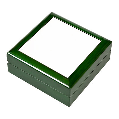 """4.25""""x4.25"""" Wooden Jewelry Box for sublimation"""