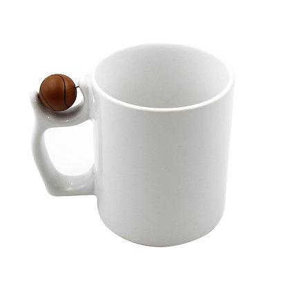 11oz Basketball Ceramic Mug for sublimation