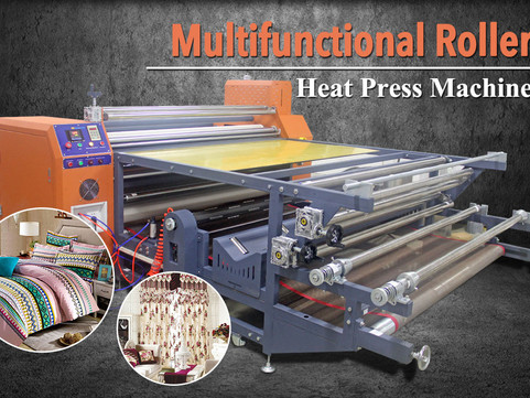 More Information About Roll To Roll Calender Heat Press