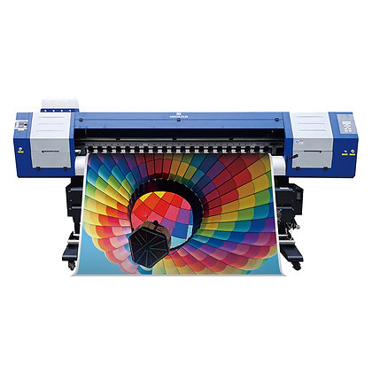 ME-1800DHT sublimation ink printer for 1.8m with two Epson DX5 heads